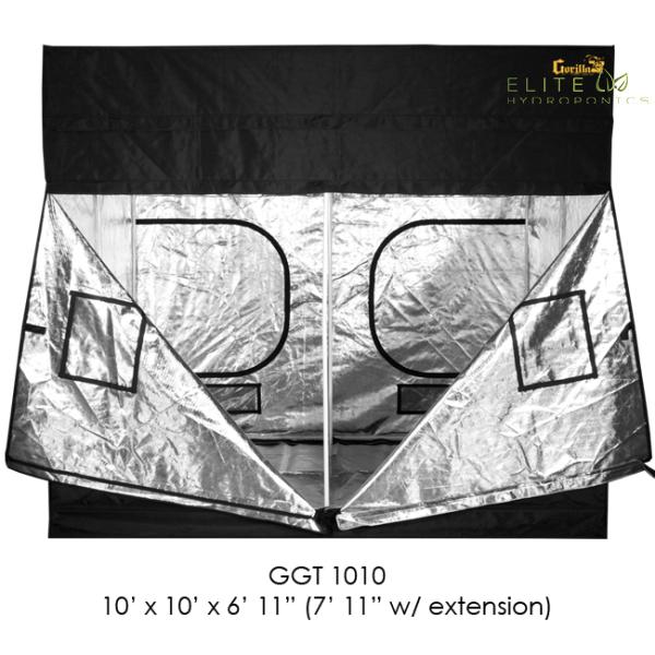 10′ x 10′ Gorilla Grow Tent