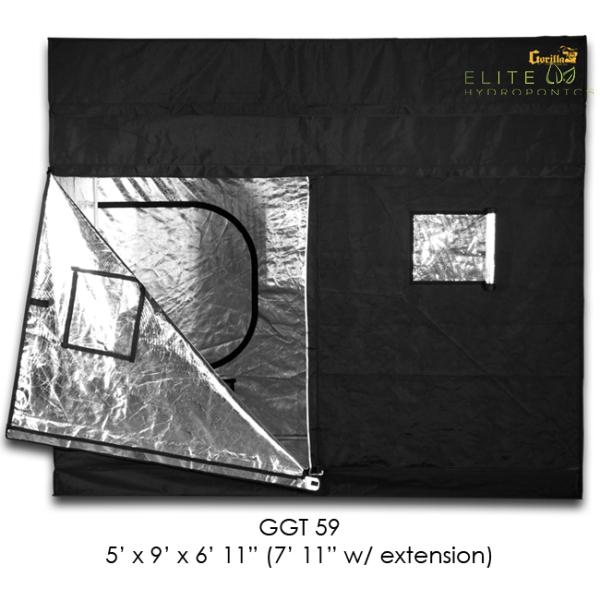 5′ x 9′ Gorilla Grow Tent