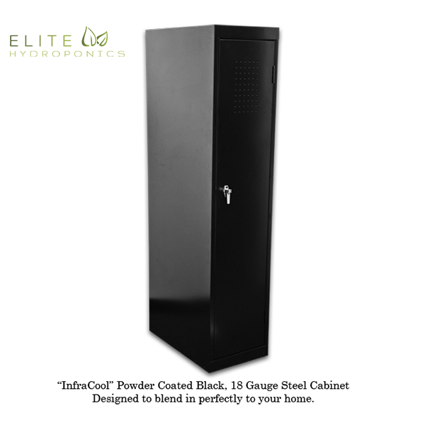 SuperLocker 3.0 LED Grow Cabinet Closed