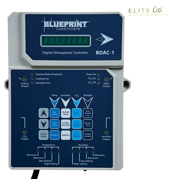 Blueprint Controllers Digital Atmosphere Controller, BDAC-1