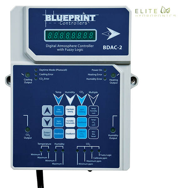 Blueprint Controllers Digital Atmosphere Controller w Fuzzy Logic BDAC-2