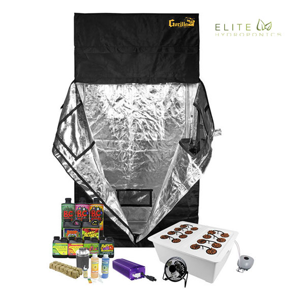 Grow Buddy - 16 Plant Hydroponics Grow Tent