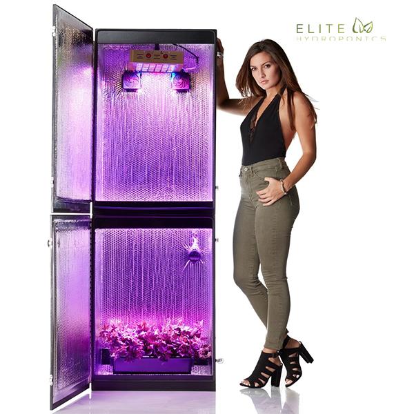 Growzilla 3.0 - 9 Plant LED Hydroponics Grow Box