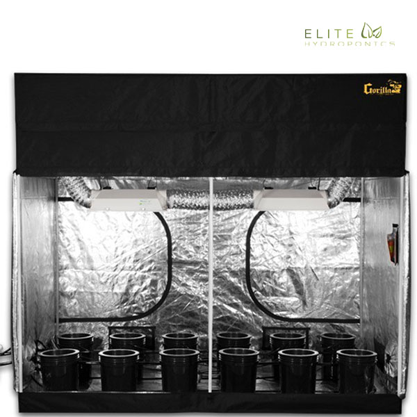 Mortgage Lifter 3.0 - 26 Plant Hydroponics Grow Tent