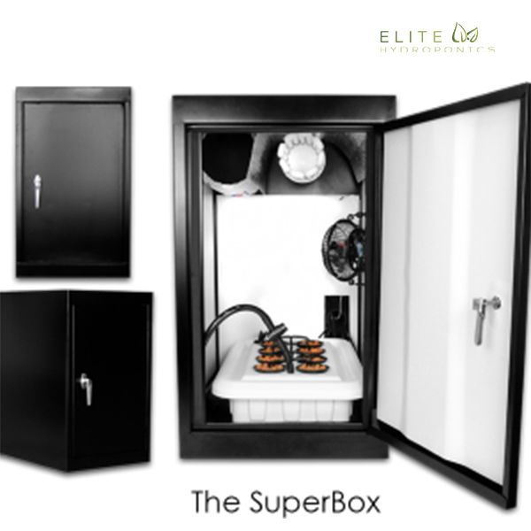 Super Box - Hydroponic Grow Box - 8 Plant