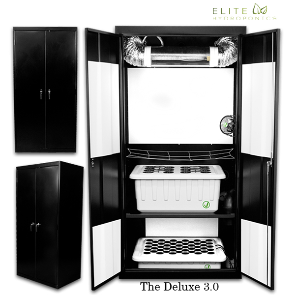 Super Deluxe 3.0 - 16 Plant Grow Box