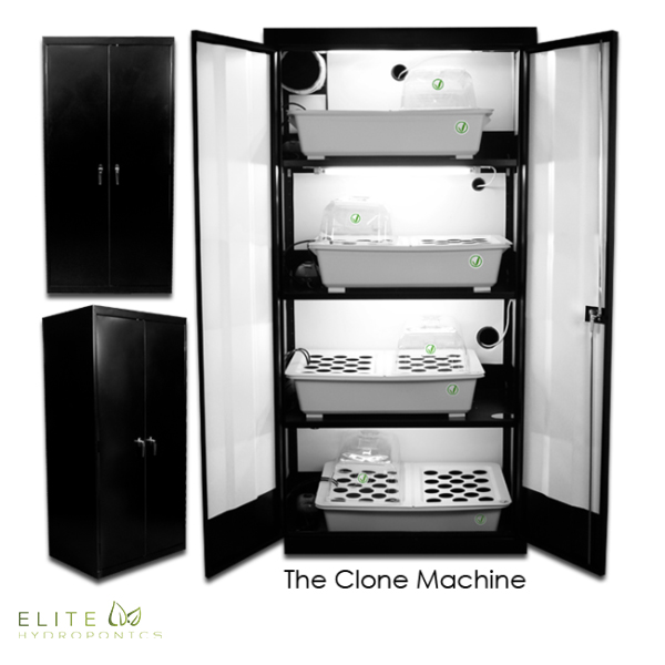 The Clone Machine Grow Cabinet