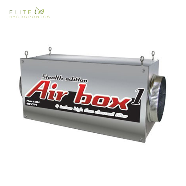 Airbox 1 Stealth Edition 500 CFM (4 inch flanges)
