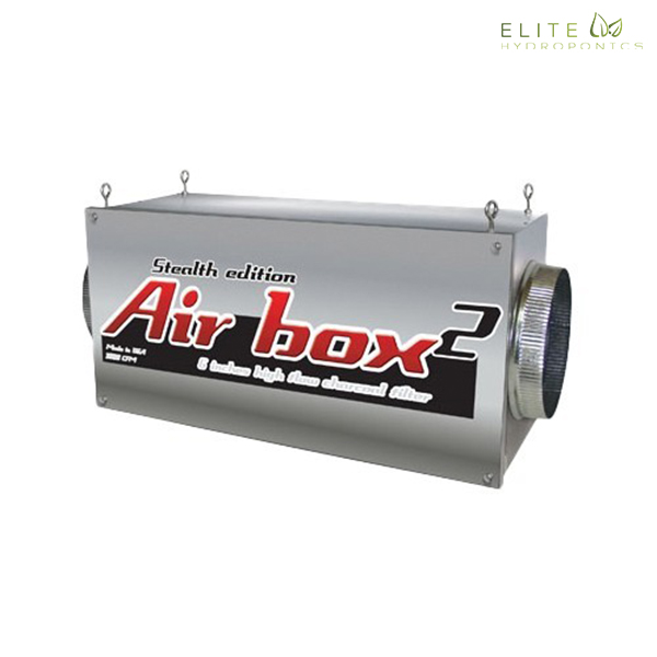 Airbox 2 Stealth Edition 800 CFM (6 inch flanges)