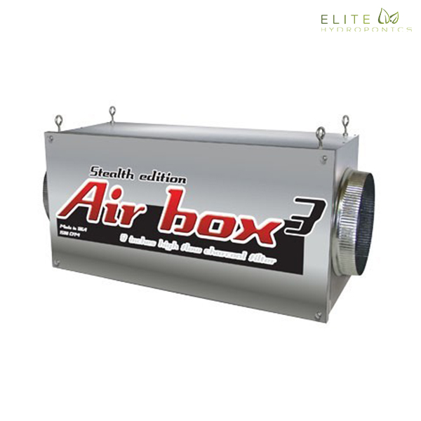 Airbox 3 Stealth Edition 1500 CFM (8 inch flanges)